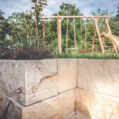 Naturstein Mauerbau