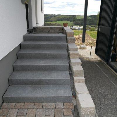 Wege Treppen Pflaster